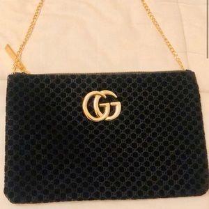 Stunning Gucci Guccisima Velvet Purse